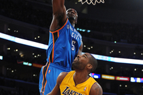 Thunder at Lakers: Jan. 11, 2012 - NG - 1