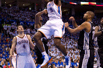 Thunder vs. Spurs: Game 4 - 6/2/12 - 2 - 1