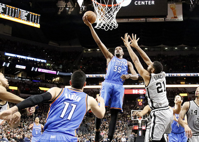 Integris Game Day Report Thunder At San Antonio Spurs
