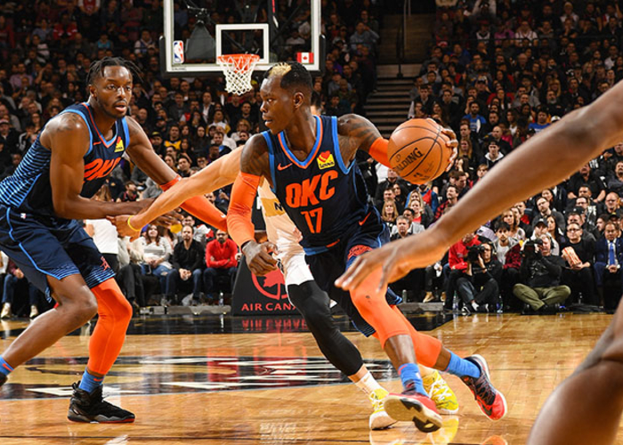 Defense Was in Position, Thunder Got it and Ran - OKC 116, TOR 109