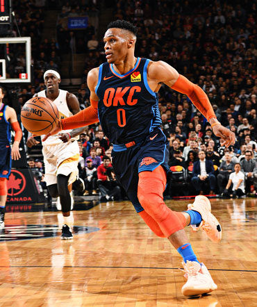 Thunder Tops Raptors