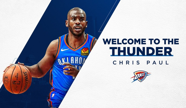 OKC Acquires Chris Paul, Two First-Round Picks