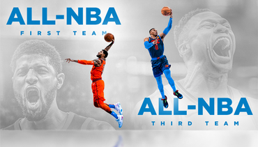 All-NBA Teams: PG, Russ