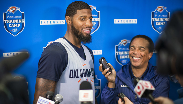 Russell Westbrook extension 'absolutely' factors into future — Paul George