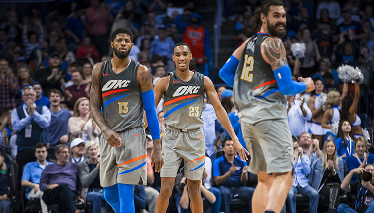 thunder hustling feeding off each other integris game day report