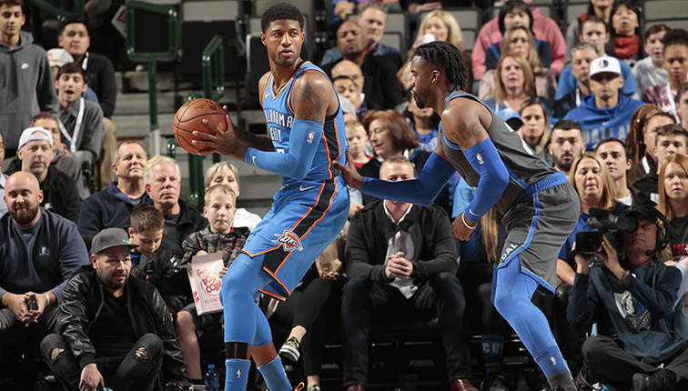 Ice Cold Shooting Stops Streaking Thunder OKC 96 DAL 111