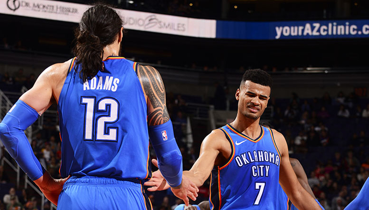 All Hands on Deck  Thunder Players Must Be Ready for Action – OU Medicine  Game Day Report  OKC at SAC 913f26289