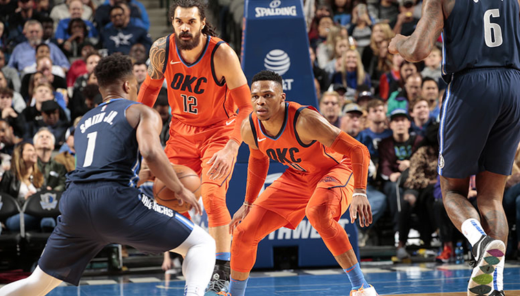 one furious comeback begets another as thunder falls to mavericks