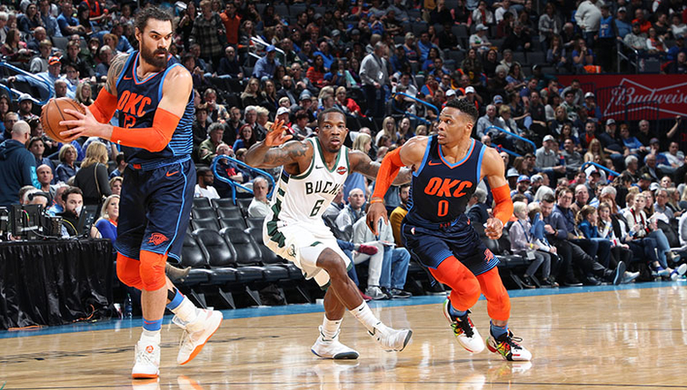 Bucks fall to Thunder 118-112