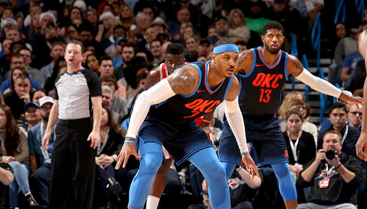 Thunder win sixth consecutive game