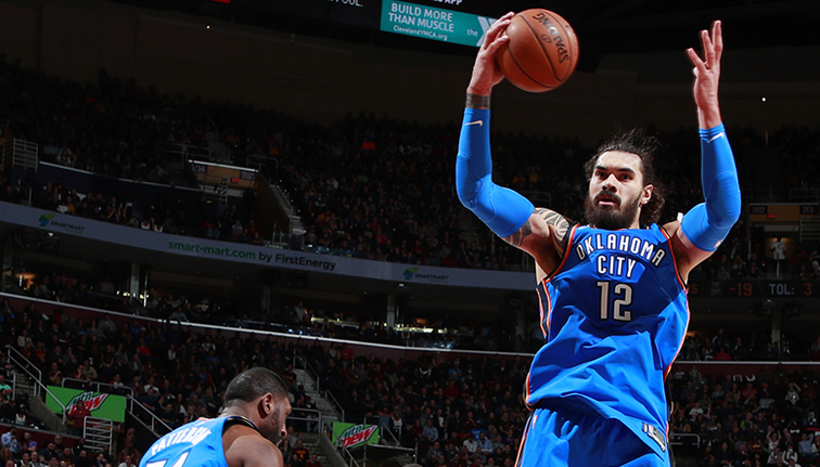 Thunder Survive Nets Upset Bid for Fifth Straight Win