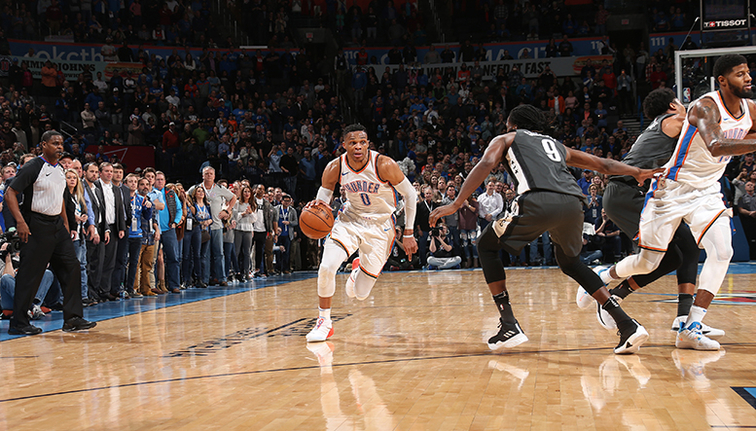 Russell Westbrook: It's 'outrageous' Paul George not voted All-Star