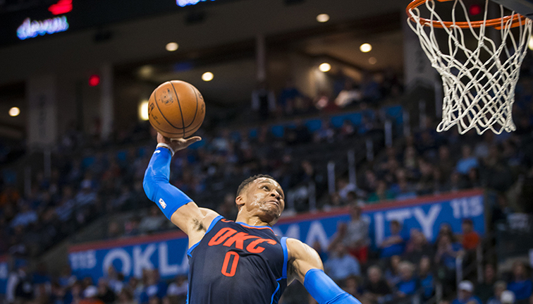 Carmelo Anthony Joins 25K-Point Club In Thunder's Win Vs. Pistons