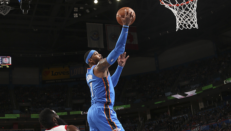 Rockets top Thunder for 16th straight win — NBA roundup