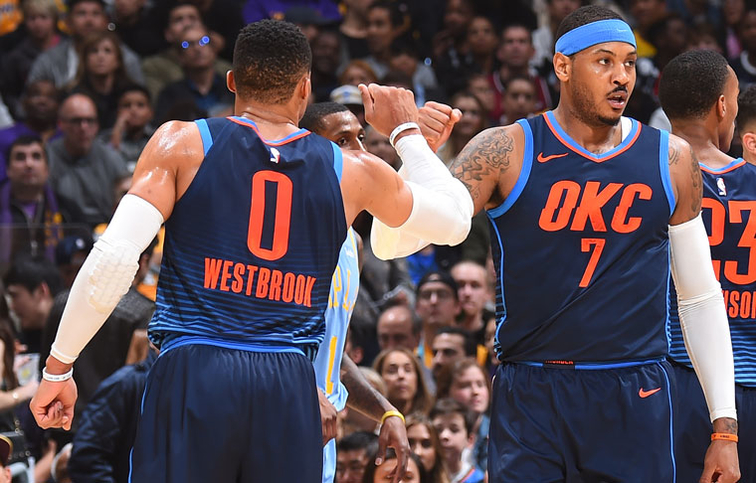 Thunder Determined to Keep Up the Momentum – INTEGRIS Game Day Report OKC vs. PHI        By Nick Gallo | Thunder Basketball Writer