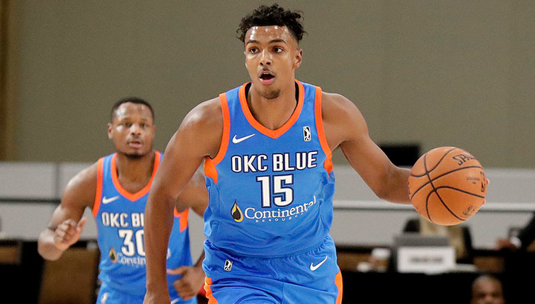 Thunder Signs Donte Grantham to Two-Way Contract  83f9e578eb2