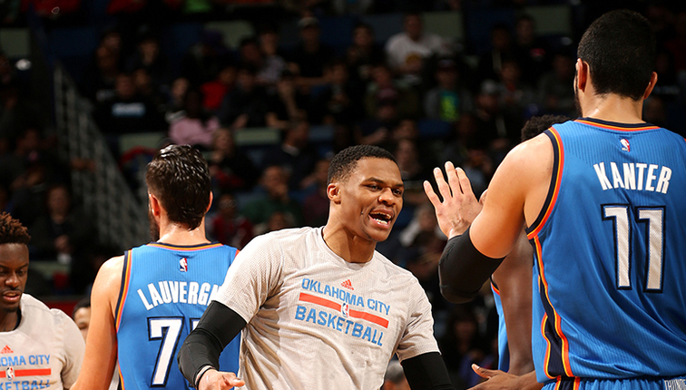 Westbrook powers Thunder past New Orleans