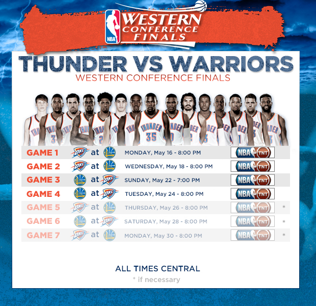 nba western conference final schedule bouvada