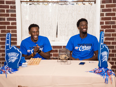 Semaj Christon, Daniel Hamilton at Afternoon Bingo