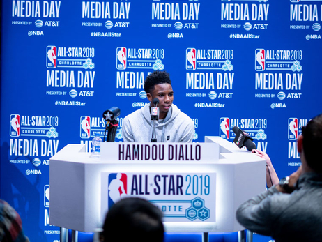 All-Star 2019: Saturday Recap – Media Frenzy, Practice and Dunk Contest