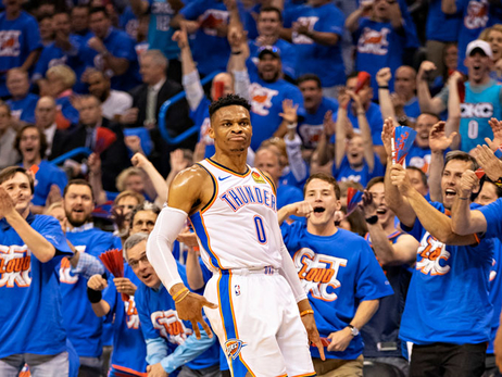 Photos: Thunder vs. Blazers - Game 4