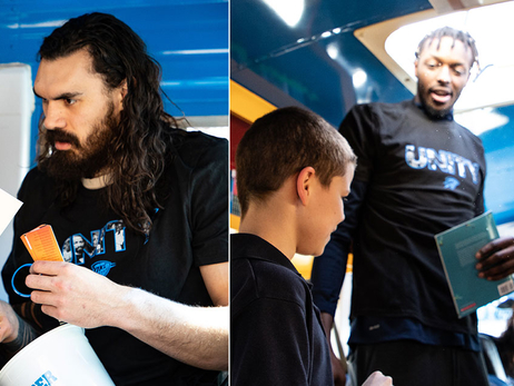 Steven Adams, Jerami Grant Celebrate Black History Month With Book Giveaway