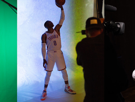 Behind the Scenes: Thunder Media Day