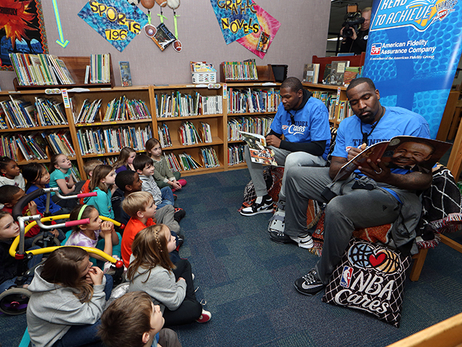 Reading Timeout: Durant, Perkins at Washington Irving Elementary