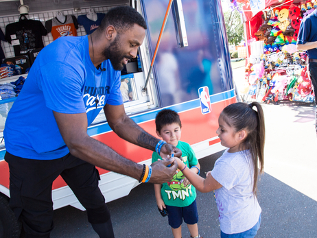 Thunder Meets Fans at Oklahoma State Fair