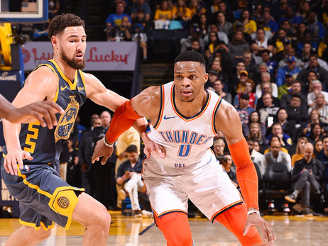 Photos: Thunder at Warriors - 11/21/18
