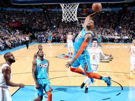 Dishing out Helpers: 32 Assists Leads to Blowout Win – OKC 128, NYK 103