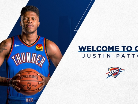 Thunder Signs Justin Patton