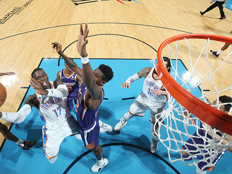 Hot Start, Professional Finish Earns Thunder a Home Win – OKC 118, PHX 101