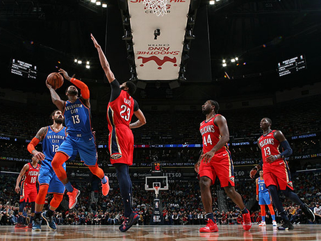 Loose Balls, Free Throws & the Paint Battle Do in Thunder on Road– OKC 114, NOP 118