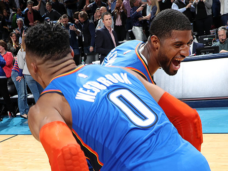 Welcome Back! Epic Double-OT Battle Ends with PG Game-Winner – OKC 148, UTA 147