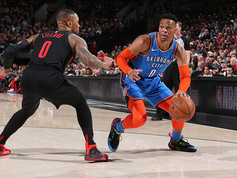 Thunder Rises in the Heat of Competition - OKC 129, POR 121 (OT)