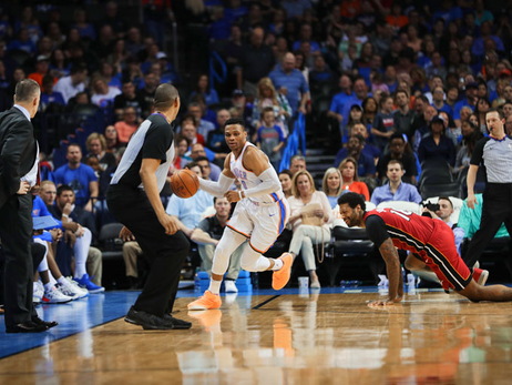 Point Guards Provide the Spark, Thunder Erupts in 4th – OKC 105, MIA 99