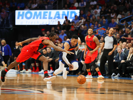 Loose Balls, Tough Shots Leave Thunder with Loss – OKC 105, POR 108