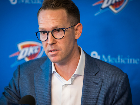Fast But Accurate – Presti's Plan for 2018-19 Thunder