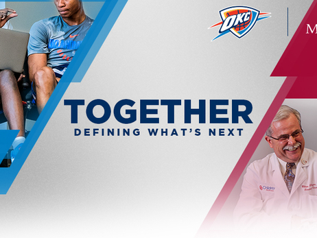 Oklahoma City Thunder, OU Medicine Announce Innovative New Partnership