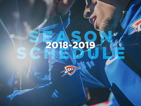 Thunder Announces 2018-19 Schedule