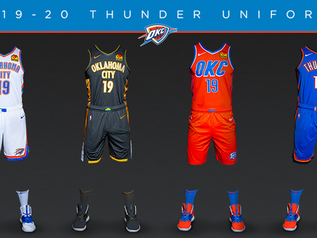 Thunder Unveils New Uniform in Partnership with Oklahoma City National Memorial