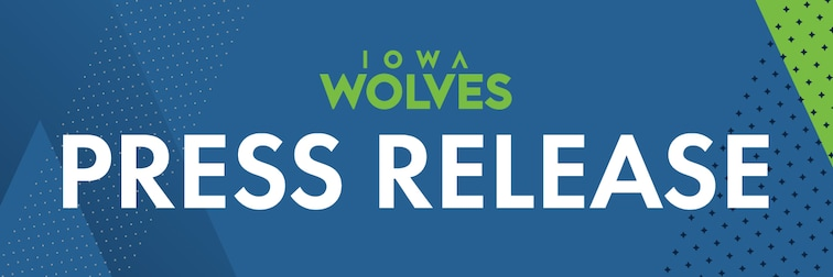 Iowa Wolves Press Release