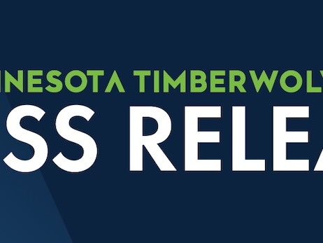 Timberwolves Press Release