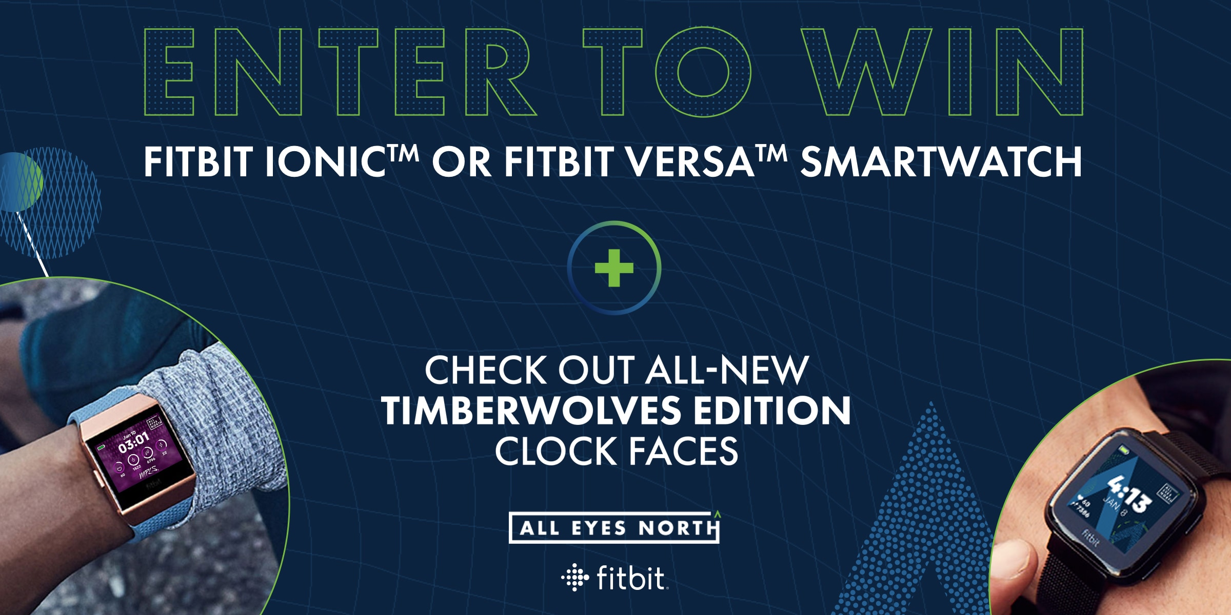 Timberwolves Fitbit Clock Faces Enter To Win   Minnesota