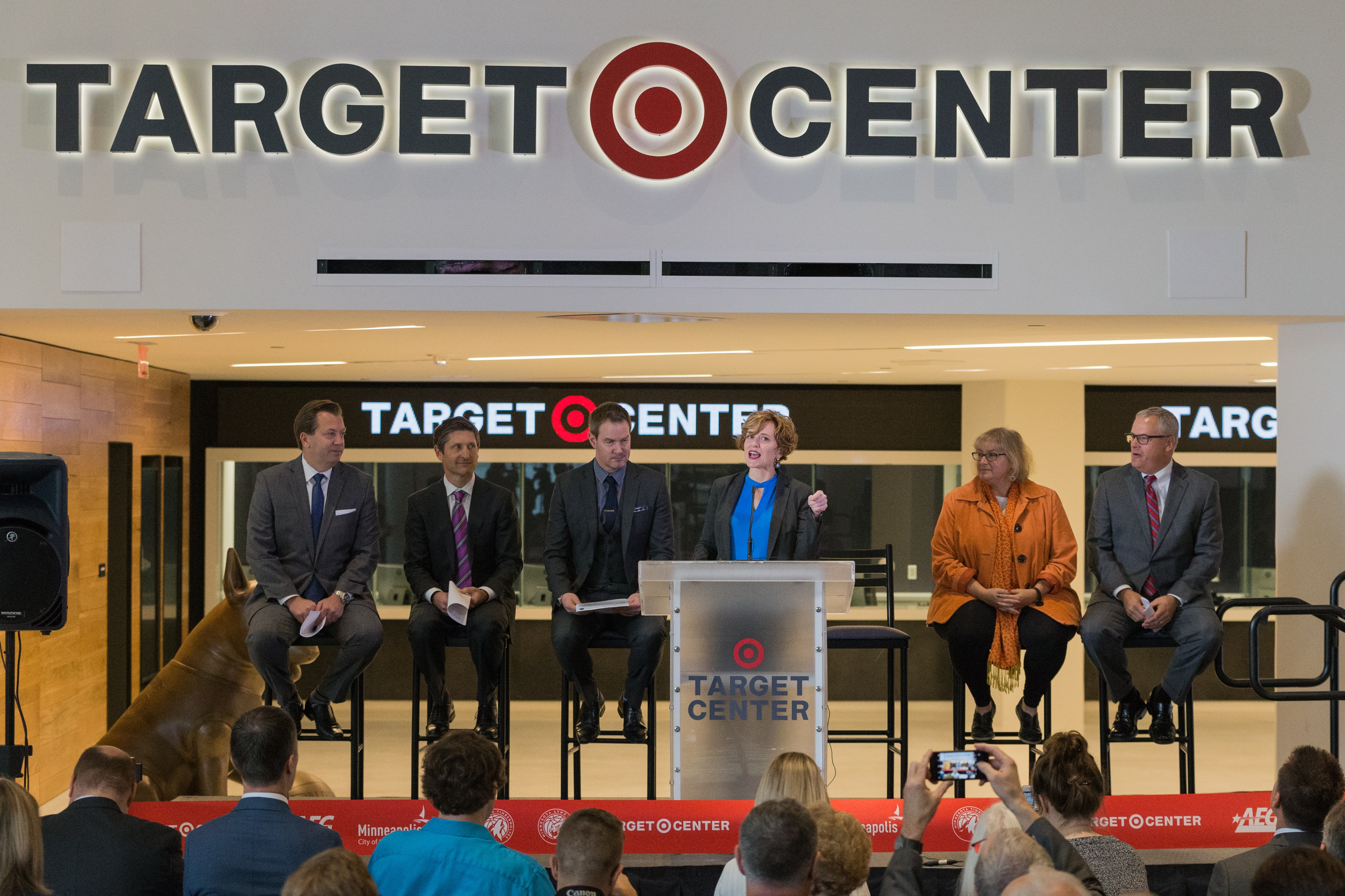 Gallery: Target Center Ribbon Cutting Ceremony