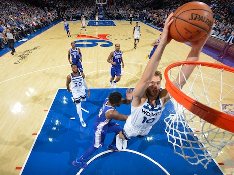 Gallery | Wolves at 76ers