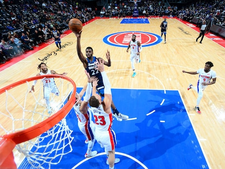 Gallery | Wolves at Pistons