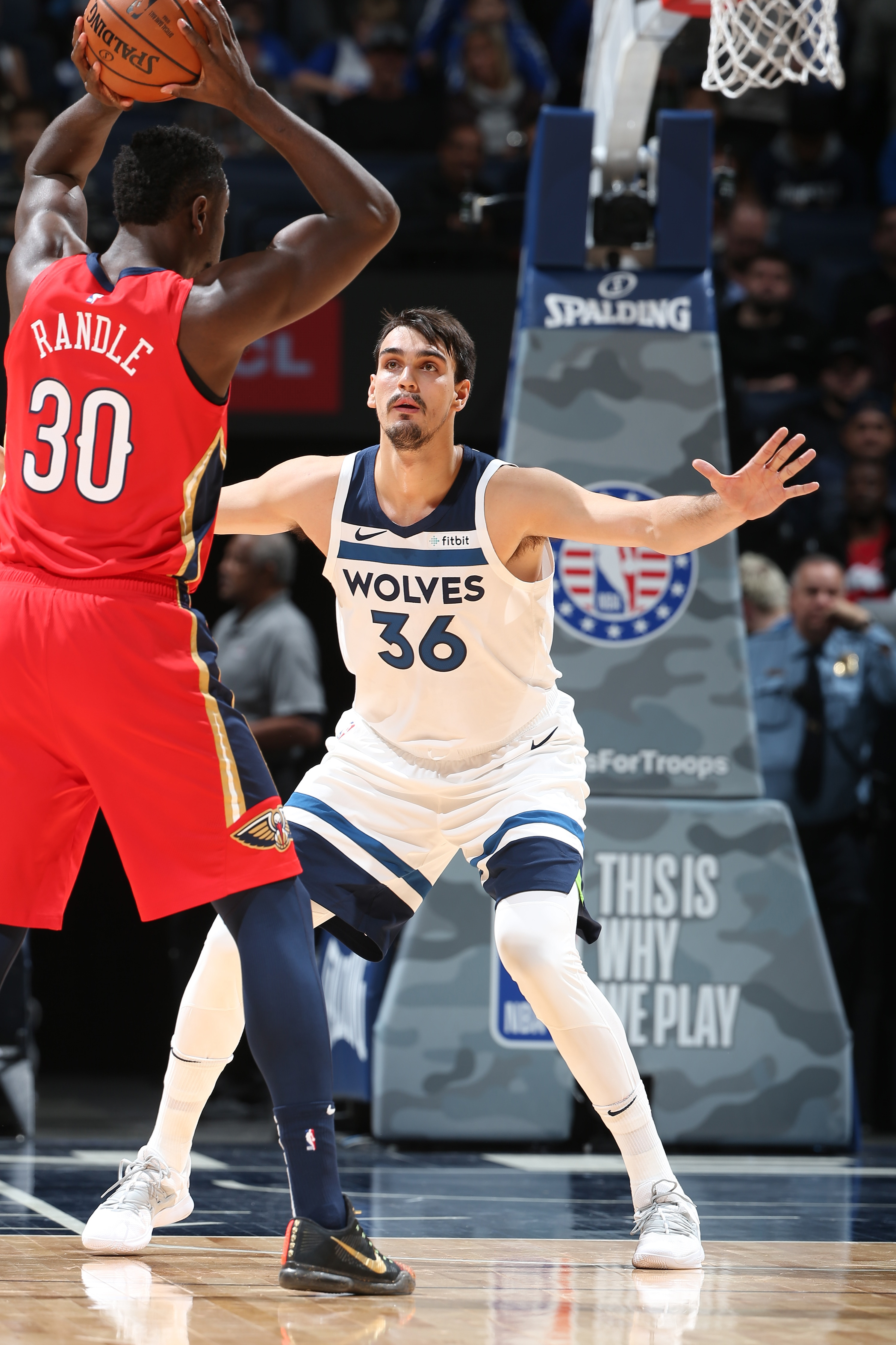 DARIO SARIC HAS THE SKILLS TO OPEN UP THE TIMBERWOLVES OFFENSE