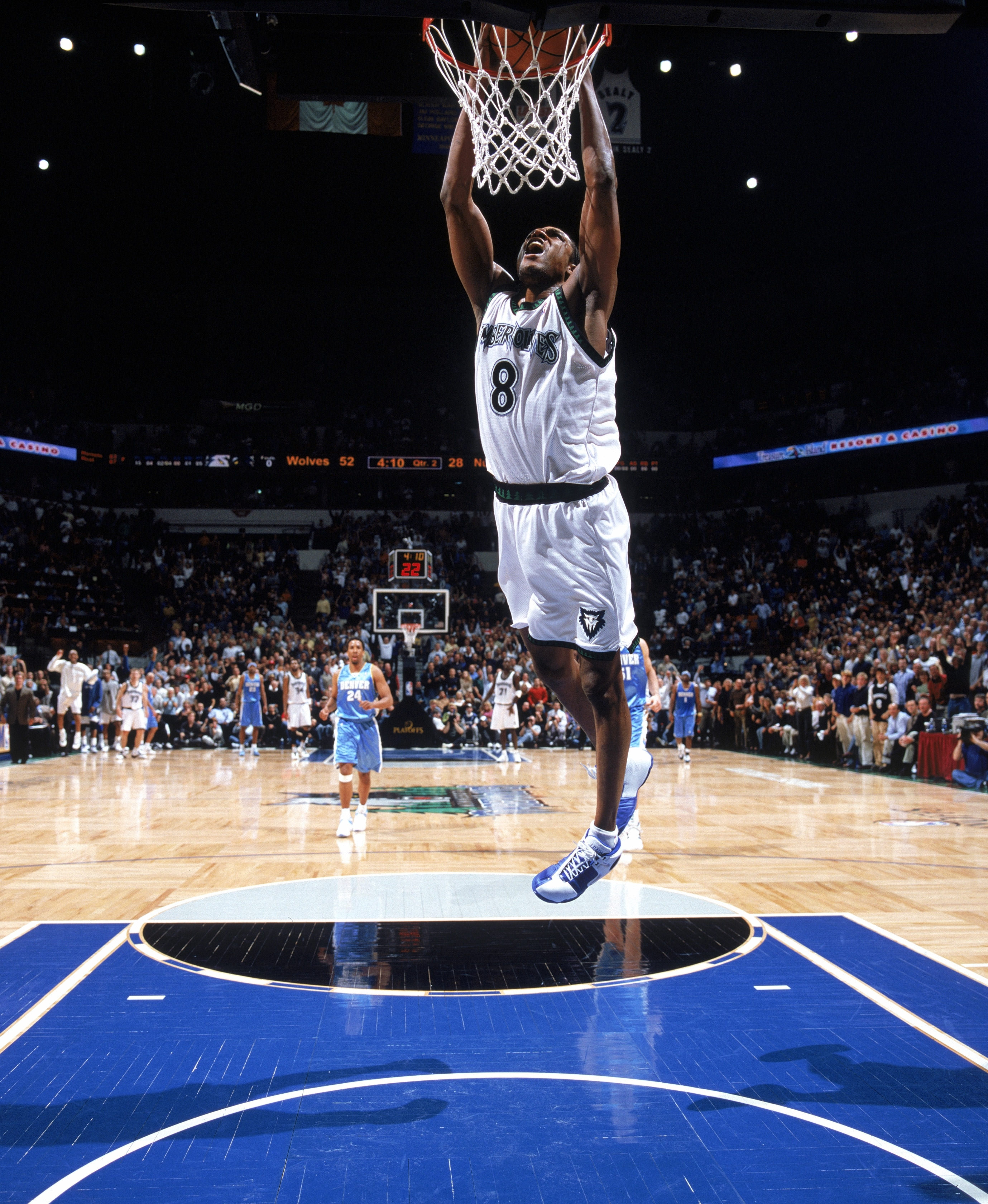 Denver Shooting April 17: 2004 Western Conference First-Round Win Over The